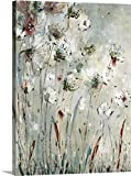 greatBIGcanvas Gallery-Wrapped Canvas entitled Night Flowers by Jill Martin 27''x36''