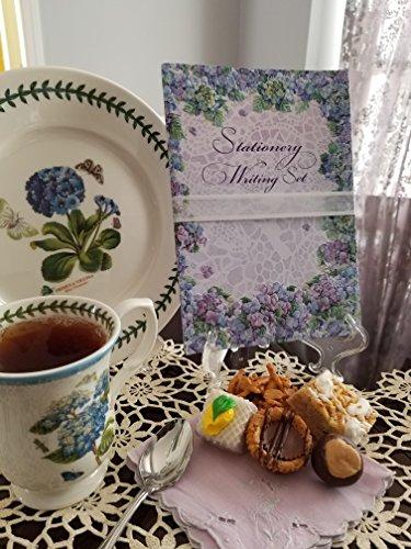Embossed Writing Paper Set- Hydrangea Design from Carol Wilson Fine Arts Inc.