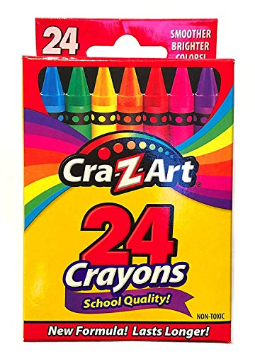 Crayons, 24 Count