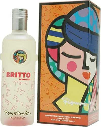 Britto Woman by Romero Britto for Women 2.5-Ounce Eau de Parfum Spray