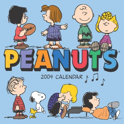 2004 Mini Calendar - Peanuts 2004 Mini Wall Calendar
