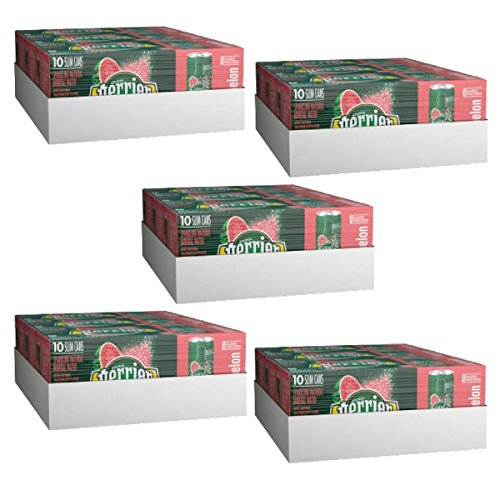 Perrier Sparkling Mineral Water, Watermelon, 8.45 fl oz. Slim Cans 30 Count (Pack of 5) by Perrier