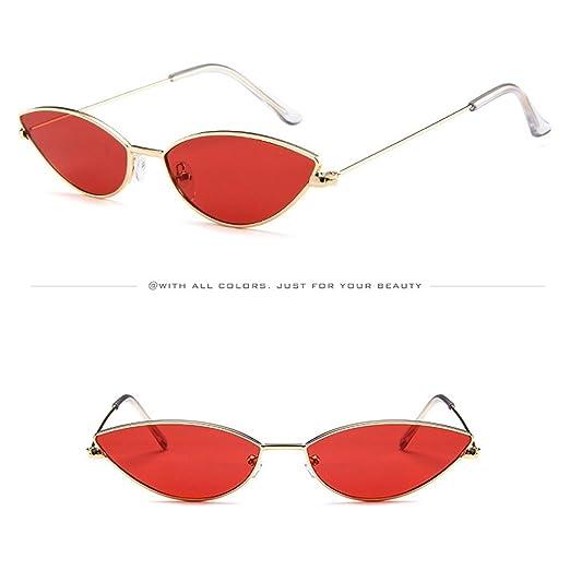 6148d7a06ae41 Amazon.com  AMOFINY Fashion Glasses Mens Womens Small Frame Cat Eye ...