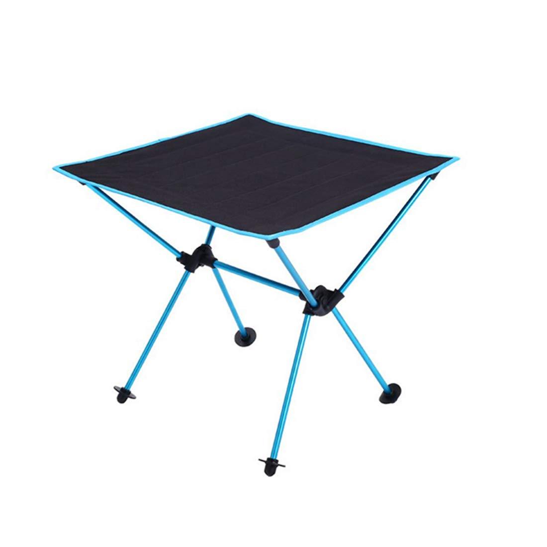 Kamiwwso Oxford, Mesa Plegable Multifuncional para Picnic, Aluminio Oxford, Kamiwwso Azul Claro (Color : Azul) 983de9