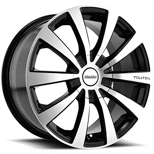 - Touren TR3 17 Black Wheel / Rim 5x110 & 5x115 with a 40mm Offset and a 72.62 Hub Bore. Partnumber 3130-7711M