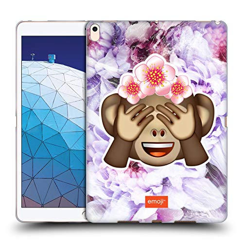 - Official Emoji Monkey Solos Soft Gel Case Compatible for iPad Air (2019)