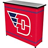 NCAA University of Dayton Two Shelf Portable Bar with Case