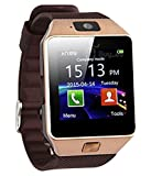 Bingo T30 Gold Brown Bluetooth Notification Smartwatch Compatible with anroid and ios device