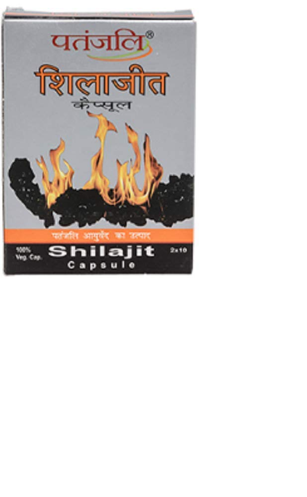 Patanjali Shilajit Capsule, 2X10