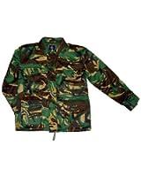 Adults padded woodland camo safari jacket