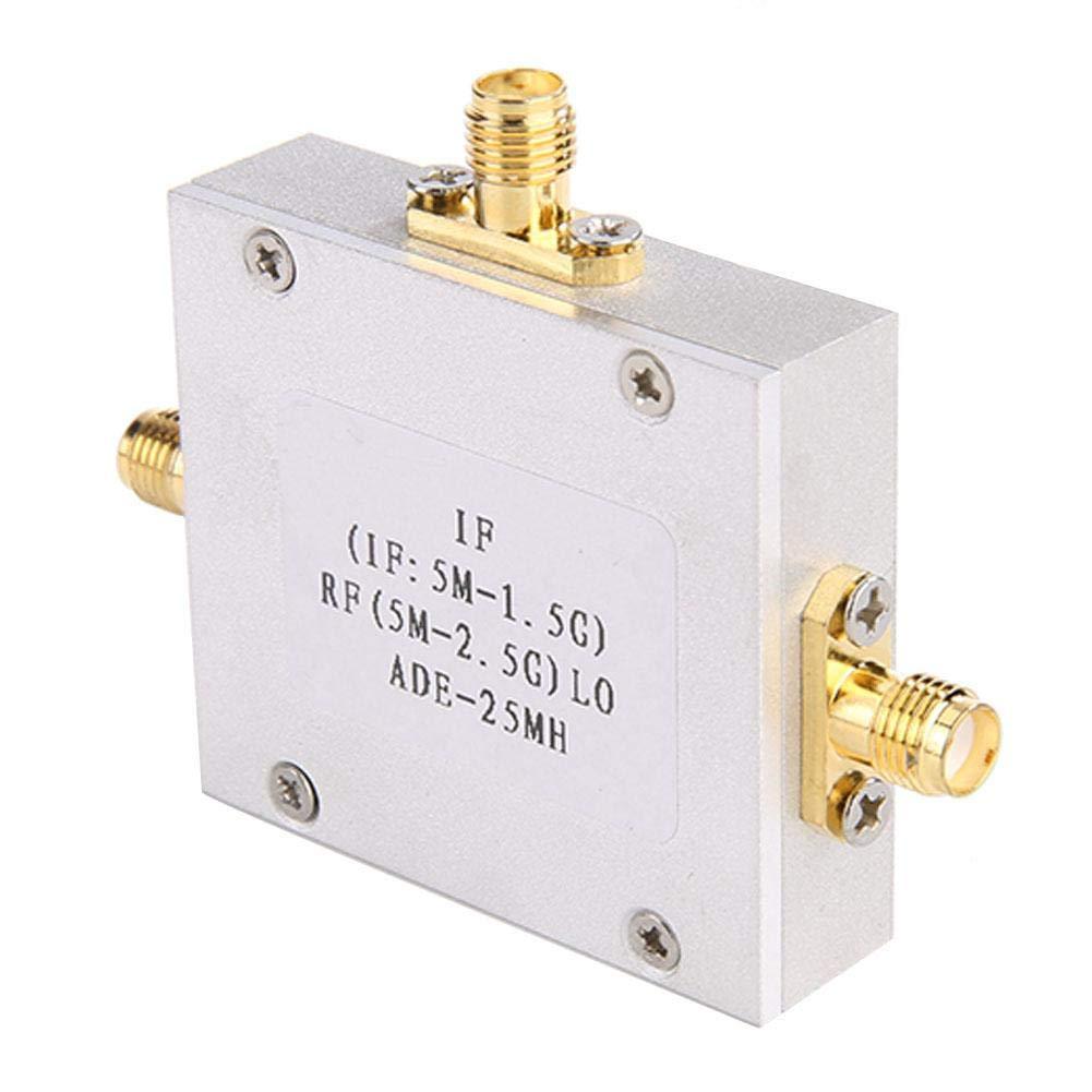 Module de Mixage Passif Convertisseur de Fr/équence de Mixage Equilibr/é Double Diode de Mixeur Passif ADE-6 /à Faible Bruit Lin/éaire Haute 5-2500MHz