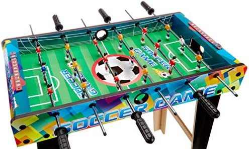 Legnoland – Futbolín de Madera con 3 Barras: Amazon.es: Juguetes y juegos