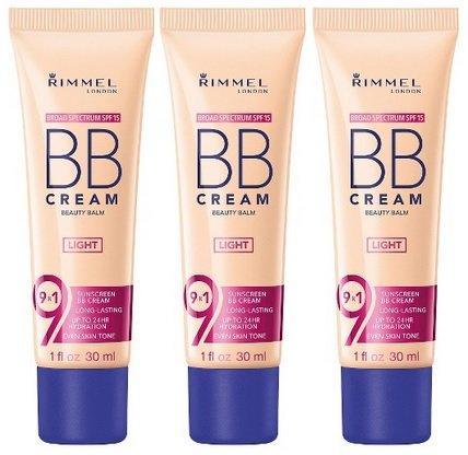RIMMEL London BB Cream SPF 15 offers 9 in 1 benefits LIGHT