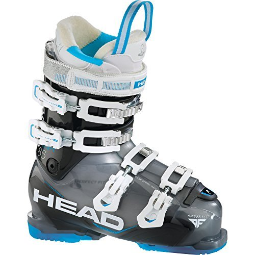 Head Adapt Edge 85 Ski Boot - Womens 2016, Black-Blue, 25.5 Head Adapt Edge