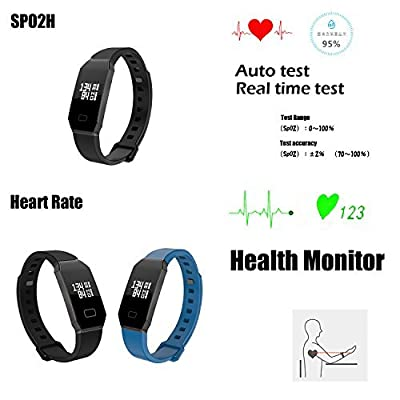 NEWYES Blood Pressure Smart Watch Fitness Tracker Woman Smart Bracelet with SPO2H Heart rate monitor Sleep Management Pedometer for Android IOS Smartphone