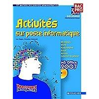 Parcours Interactifs Activités sur poste informatique Sde Bac Pro