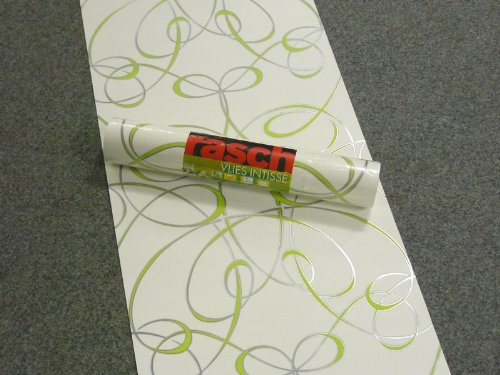 Rasch tapeten grün  Rasch Number One Tapete weiß grün 777918: Amazon.de: Baumarkt