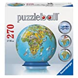 Ravensburger Illustrated World Map - 270 pc 3D Puzzle