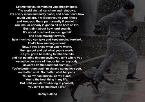rocky balboa sprüche Amazon.de: Motivational   Rocky Balboa 19   Boxen   Zitate   A3  rocky balboa sprüche