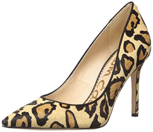 Sam Edelman Women's Hazel Pump, New Nude Leopard, 8.5 M US