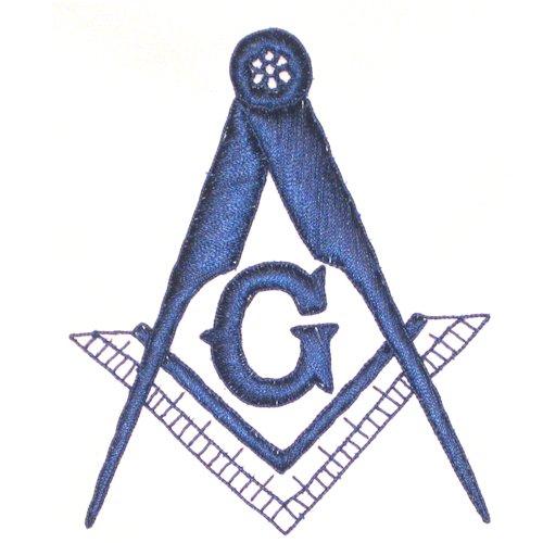 Masonic Blue Lodge Apron with blue fringe for the Freemason by The Masonic Exchange