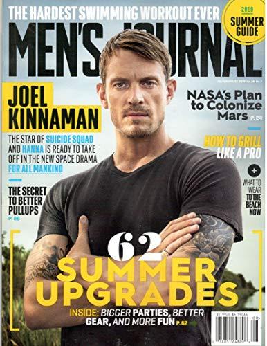 Men's Journal Magazine (July/August, 2019) Joel Kinnaman Cover