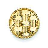 14K Yellow Gold Tie Tac Polished Mens Jewelry New |N