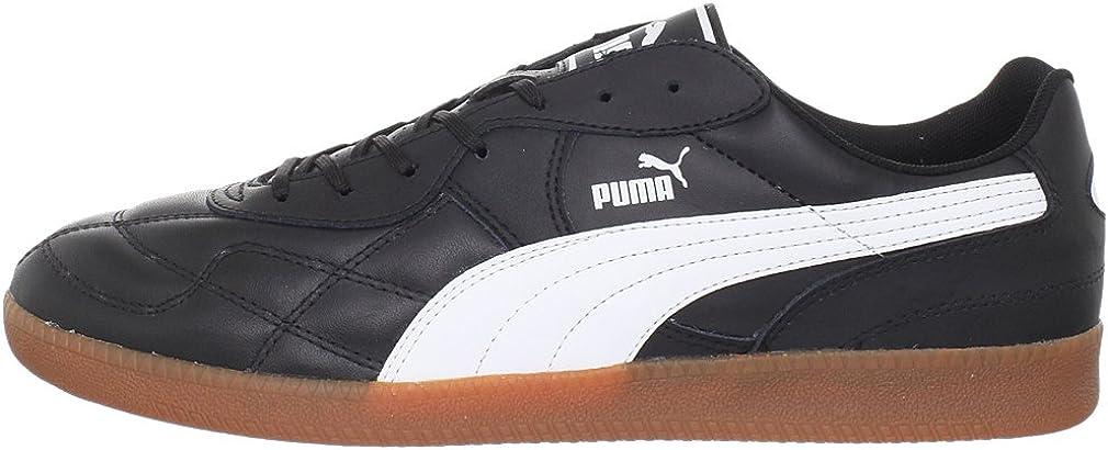 Puma Esito Classic Sala Herren Schwarz Rund Leder EU 48,5