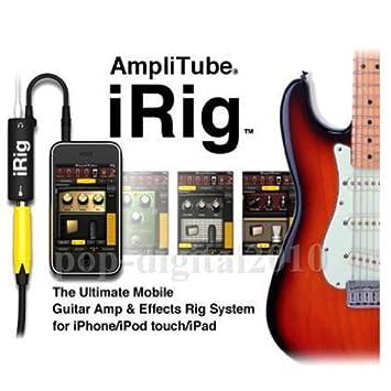 iTube iRig Cable adaptador amplificador de guitarra/bajo para iphone ...