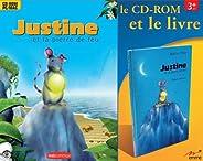Coffret CD + Livre - Justine et la pierre de feu