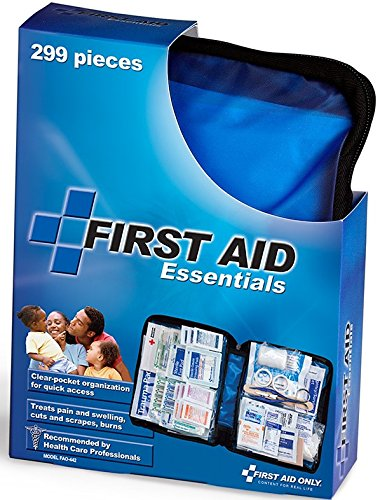 Large Product Image of First Aid Only All-Purpose First Aid Essentials Kit, 299 Pieces, Fabric Case