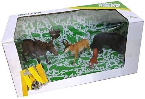 NOUVEAU Mojo Animal Planet Red Fox solide Jouet en plastique Wild Zoo Woodland Garden