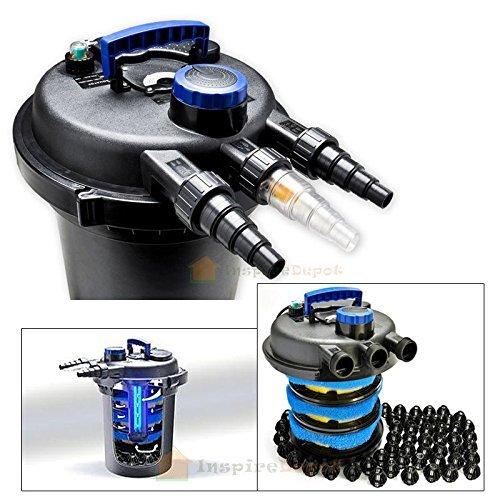 Generic L Koi Watere Bio Fi Filter W  13W Uv 4000Gal Pond Sterilizer Light Pressure Bio 10000L Koi Water 4000Gal Pond Pressu