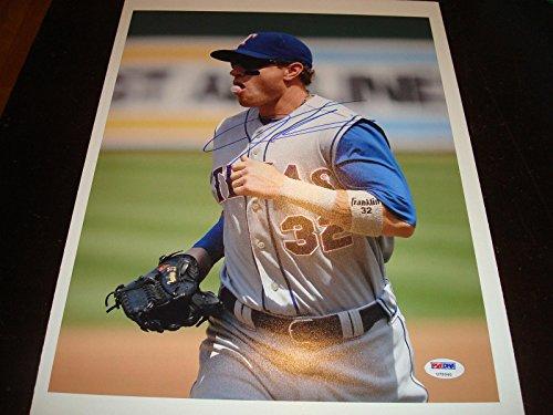Autographed Josh Hamilton Photograph - 11x14 1A - PSA/DNA Certified - Autographed MLB Photos ()