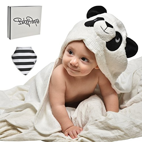 EXTRA soft Bamboo hooded towel product image