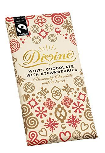 (Divine Chocolate - White Chocolate With Strawberries -)