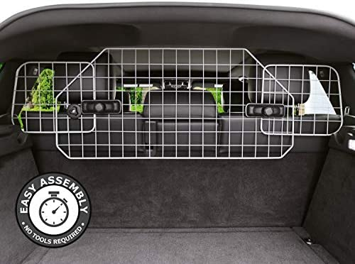 Dog Barrier for SUV s, Cars Vehicles, Heavy-Duty – Adjustable Pet Barrier, Universal Fit