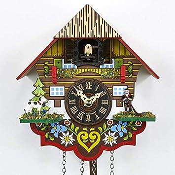 Casa de la 1000 Relojes Cuco Reloj - Negro Bosque Casa: Amazon.es: Juguetes y juegos