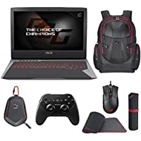 ASUS ROG G752VS-XB72K OC Edition - Pro Extreme (i7-6820HK, 32GB RAM, 2x 512GB NVMe SSD + 1TB HDD, NVIDIA GTX 1070 8GB, 17.3 Full HD, Windows 10 Pro) Gaming Notebook