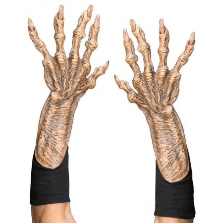 Zagone Monster Gloves, Tan Latex Hands,  Black Cotton Gloves]()