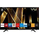 VU 80 cm  32 Inches  HD Ready Smart LED TV 32OA  Black   2019 Model  Televisions