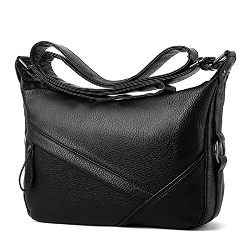 Large Capacity Women's Casual Shoulder Bags Leather Crossbody Bag Handbags (Style 1)