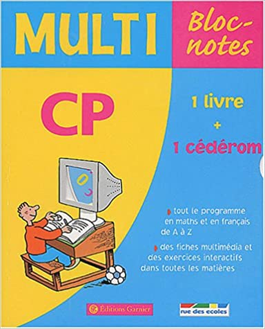 Lire un Multi Bloc-notes CP (1 CD-Rom inclus) pdf ebook