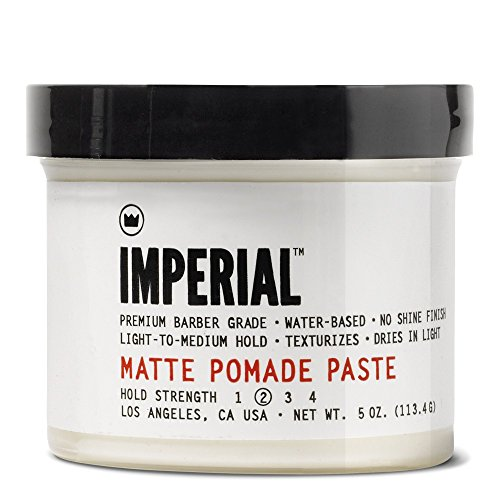- Imperial Barber Grade Products Matte Pomade Paste 4 Oz.