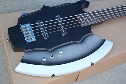 액스 서명이있는 5 현베이스 기타/5-String Bass Guitar with A..