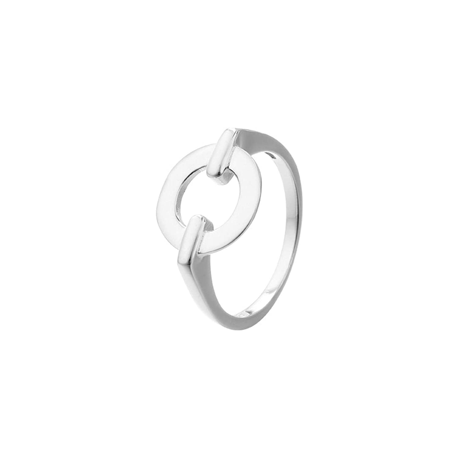 Daesar 925 Sterling Silver Rings for Women Ring Circle Silver Ring Size