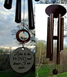 'When Words fall short' send COMFORT with music Memorial Wind Chime Shipping In Memory Of Loved One Copper Memorial Garden or Porch