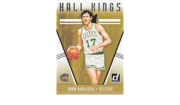 9e9bcca53013 2018-19 Donruss Basketball Hall Kings  17 John Havlicek Boston Celtics at  Amazon s Sports Collectibles Store
