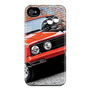 Awesome Ford Falcon European Flip Case With Fashion Design For Iphone 4/4s
