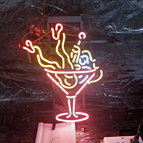 "(XPGOODUSA Mini girl Neon Sign-17""×13"" for Home Bedroom Garage Decor Wall Light, Striking Neon Sign for Bar Pub Hotel Man Cave Recreational Game Room)"